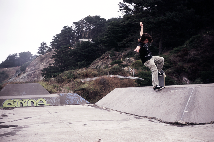 Travis Knight | 180 switch Crook | Baker Beach | Photo: Zahina
